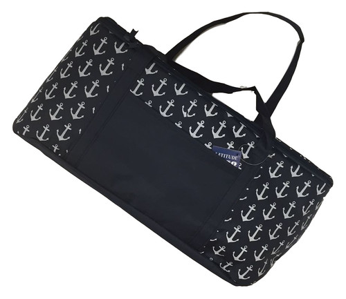Anchor Market Tote  Nautical Seasons