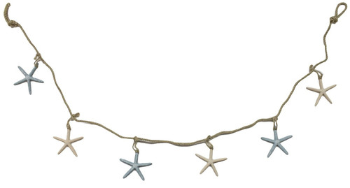 Colorful starfish garland Valance Nautical Seasons