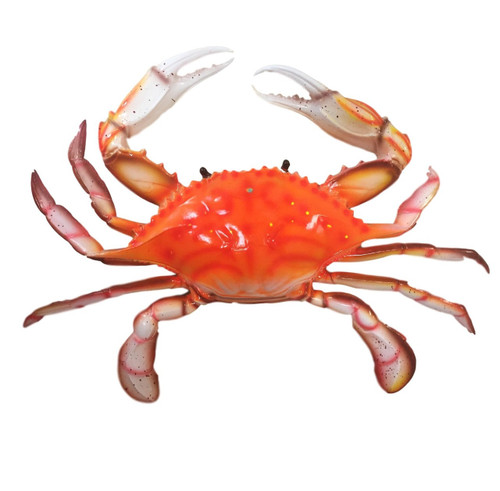 Large Red Crab Wall Decoration  Nautical Seasons