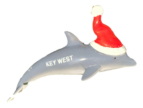 Key West Dolphin Christmas Ornament  Nautical Seasons