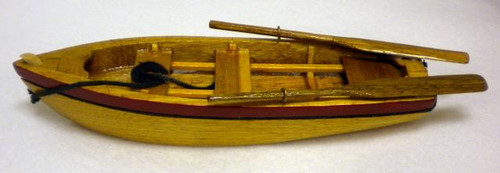Wooden Row Boat #2255