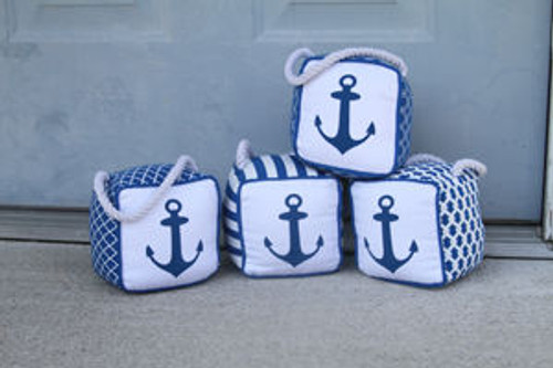 Anchor Doorstop  Nautical Seasons
