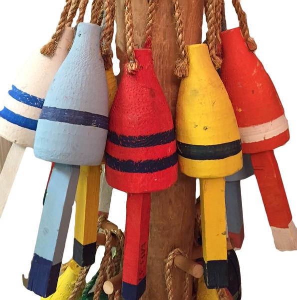 "12"" Vintage Lobster  Buoy  Nautical Seasons"
