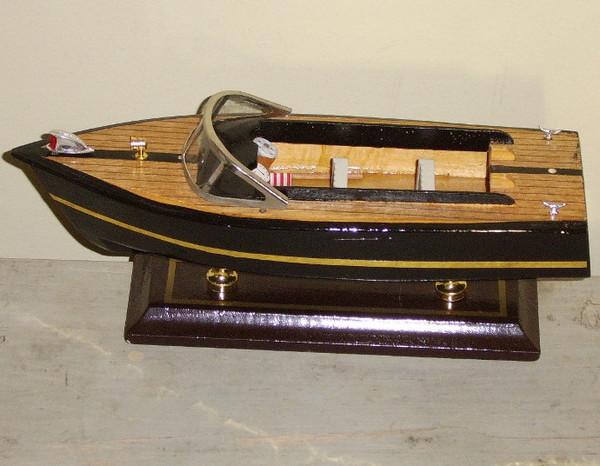 Model Power Wooden Speed Boat #2055