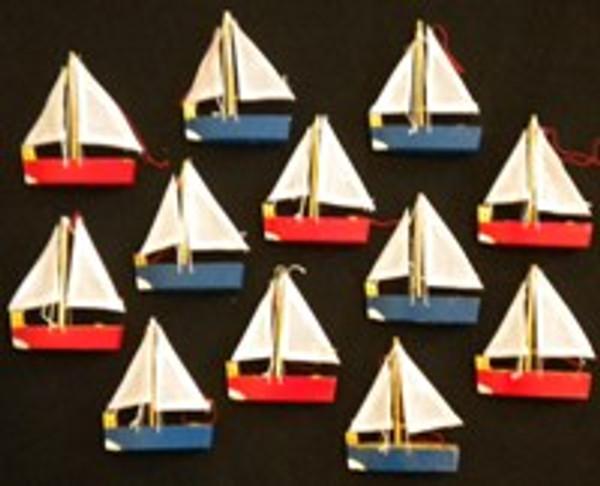 Dozen Sailboat Party Favors  Nautical Seasons