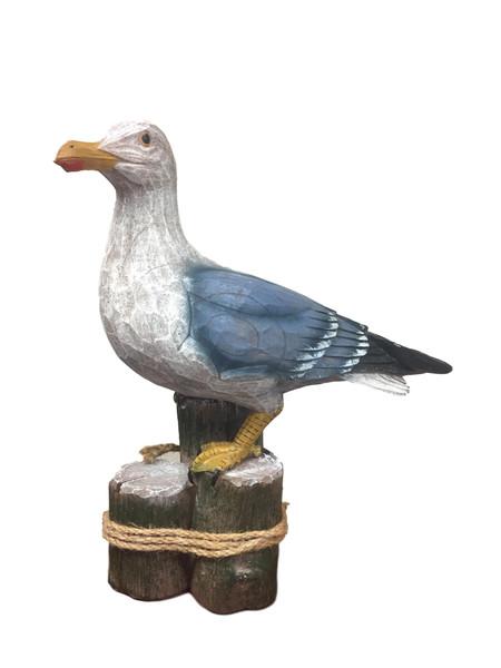 Sea Gull On Piling  Nautical Seasons