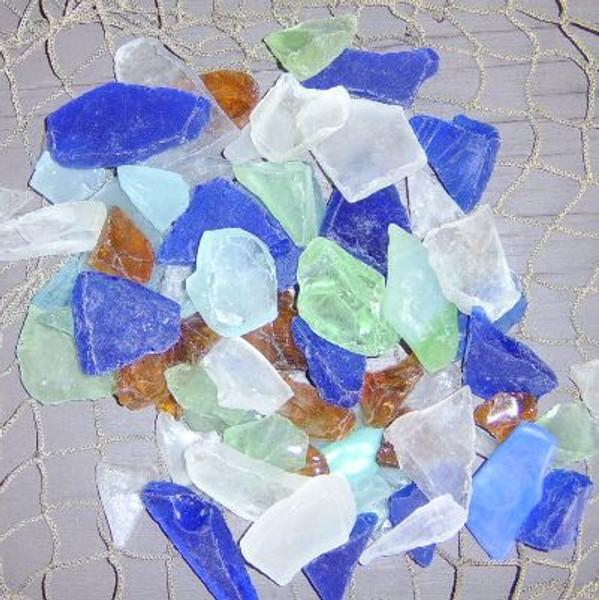 Decorative Coastal Sea Glass