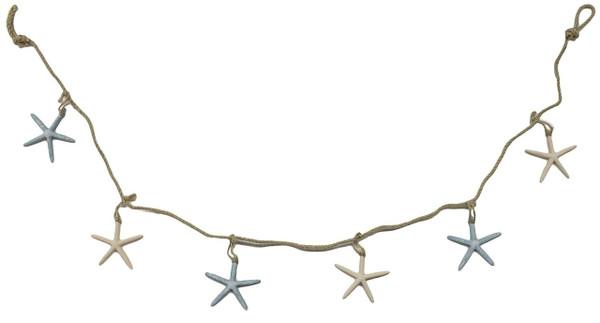 Colorful starfish garland Valance Nautical Seasons