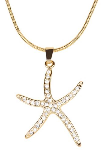Starfish Necklace  Nautical Seasons