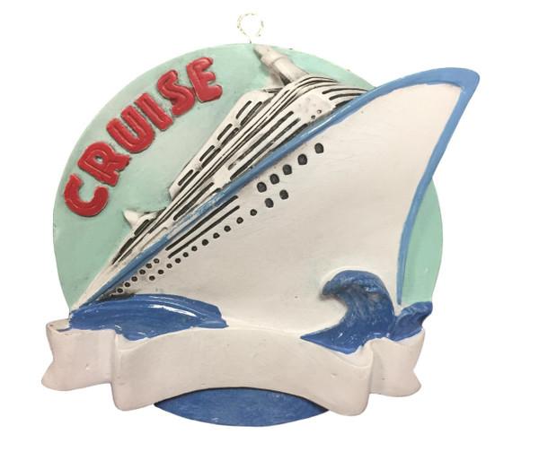 Cruise Christmas Ornament