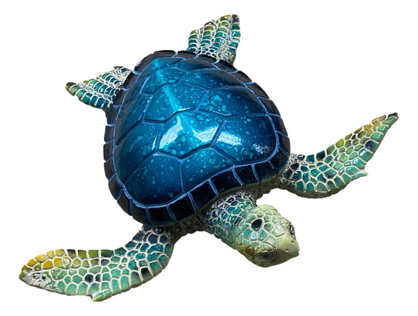 Sea Turtle Decoration Beautifully Finished  Nautical Seasons