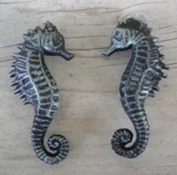 Seahorse Set of 2 Iron #2264