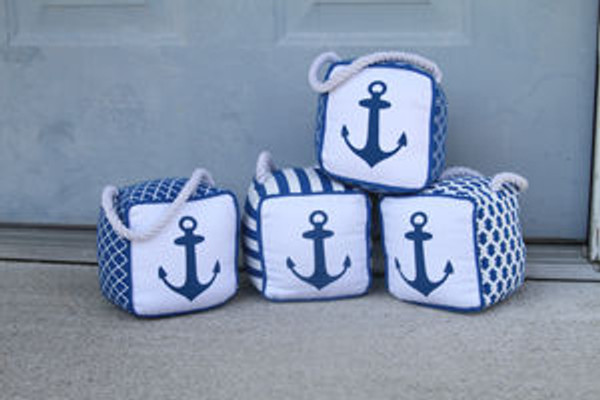 Anchor Doorstop  Nautical Seasons