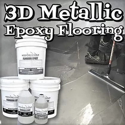 3D Metallic Epoxy Flooring