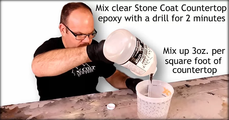 Carrara Marble Epoxy
