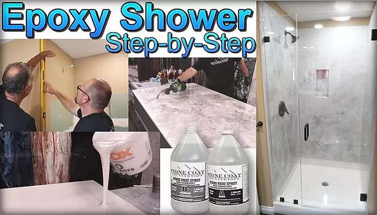 Epoxy Shower Panels