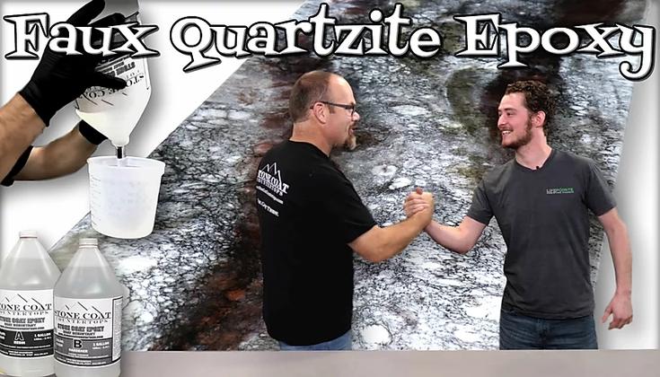 Faux Quartzite Epoxy