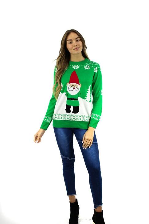 Green Gnome Christmas Sweater 8pcs