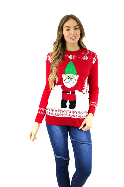 Red Gnome Christmas Sweater 8pcs