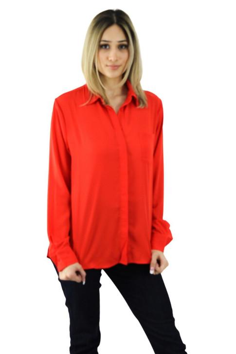 Scarlet Pocket Shirt 8pcs