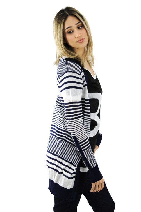 Striped Super Light Cardigan 6pcs