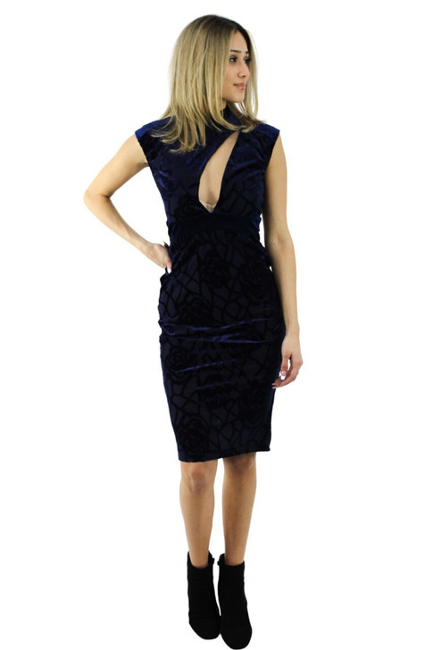 Asymmetric Cocktail Midi Dress 6pcs