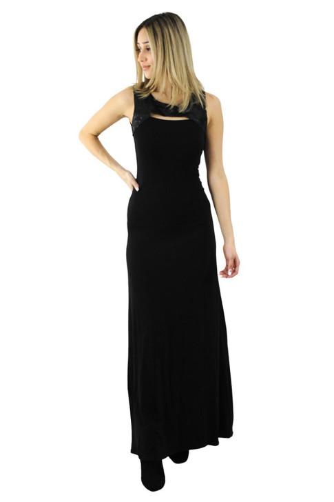 Sleeveless Cocktail Maxi Dress 6pcs