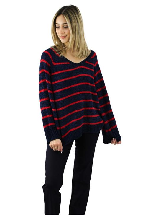 Wide Neck Sweater 8pcs