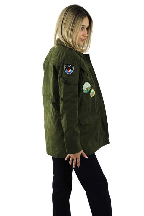 Green Adventure Style Jacket 6pcs