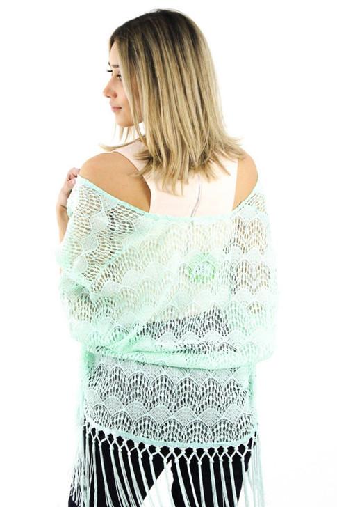 Lace Wrap Shawl 6pcs