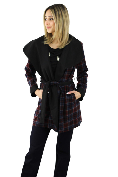 Plaid Soft Coat 6pcs