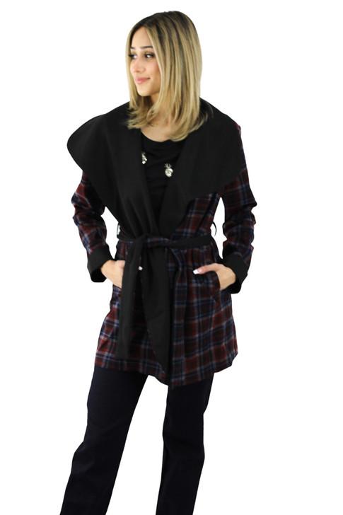 Plaid Soft Coat 6pcs