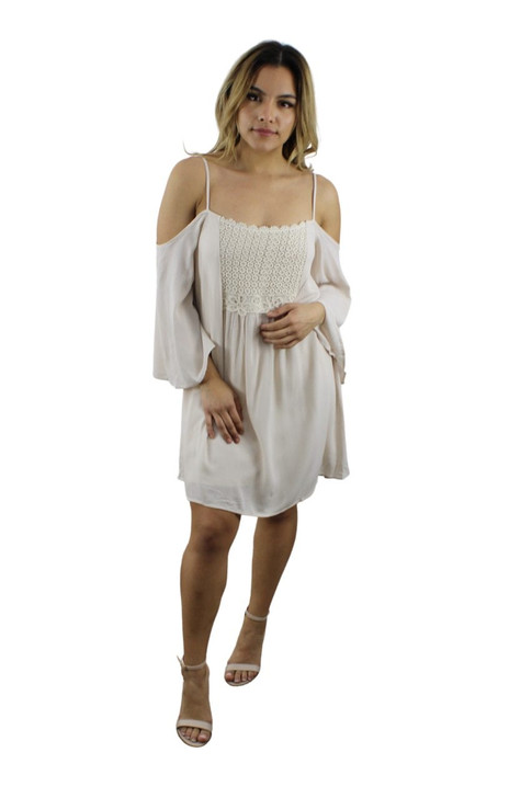 Open Shoulder Summer Dress 10pcs