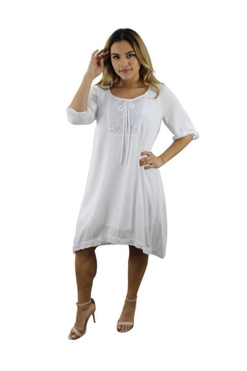 White Summer Dress 7pcs