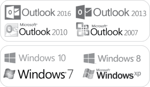 Clipboard for Microsoft Outlook 2007, 2010, 2013, 2016. Windows XP, 7, 8.1, 10