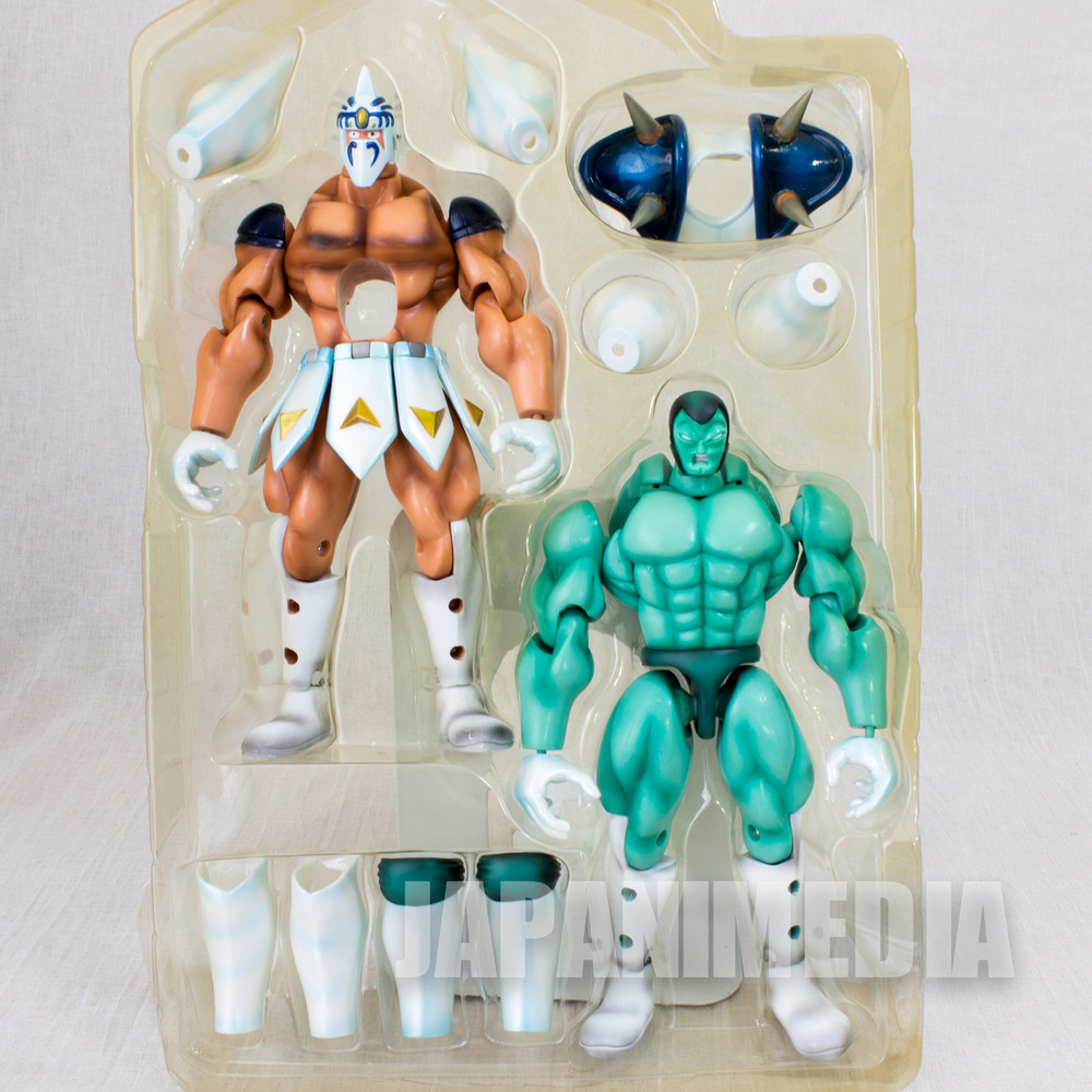KINNIKUMAN Satancross Ver.A Romando PVC Action Figure JAPAN ULTIMATE MUSCLE