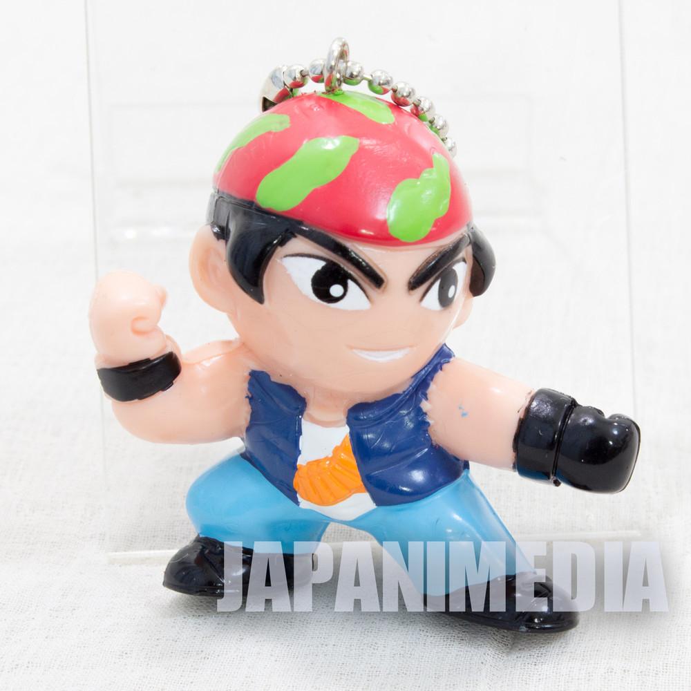 KOF King of Fighters Ralf Jones Figure Key Chain SNK JAPAN