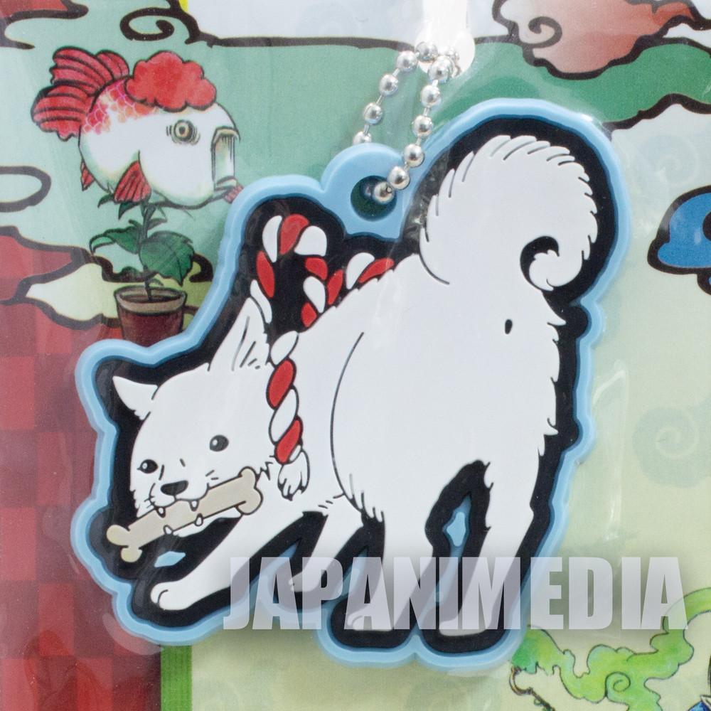 Hozuki no Reitetsu Shiro Rubber Mascot Ballchain Hoozuki JAPAN ANIME MANGA