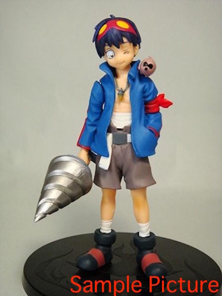 "RARE! Gurren Lagann Simon 4"" Figure Collection Konami JAPAN ANIME GAINAX"