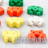 Retro Space Invaders Mini Rubber Figure Set JAPAN GAME NES