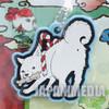 Hozuki no Reitetsu Shiro Rubber Mascot Ballchain JAPAN ANIME MANGA
