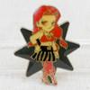 Pretty Soldier Sailor Moon Kaori Kuromine Kaolinite Metal Pins Badge JAPAN ANIME