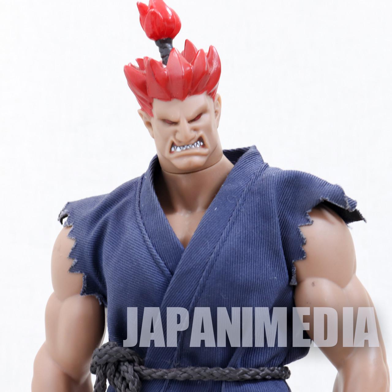 SET OF 12 CAPCOM STREET FIGHTER MINI RUBBER FIGURE KEYCHAIN ANIME MANGA JAPAN