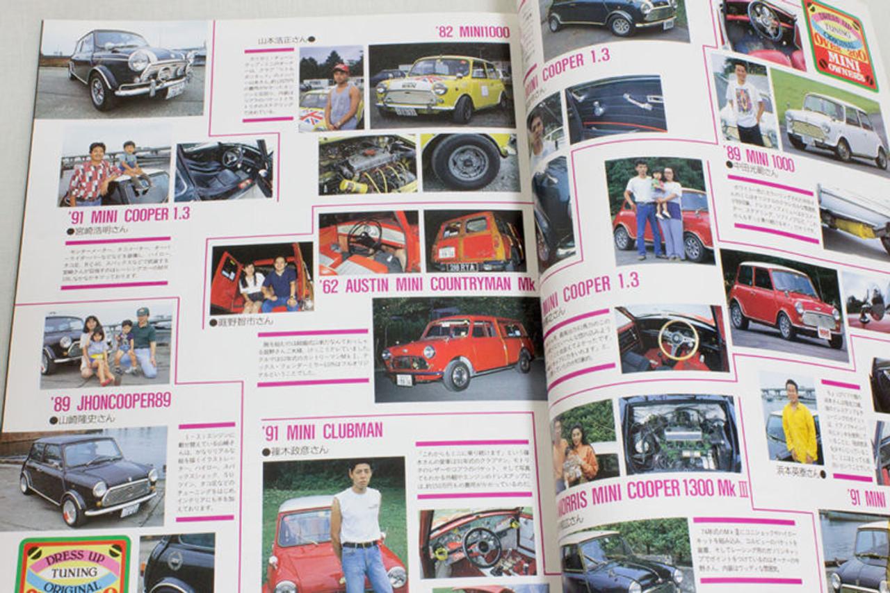 1993 Mini Multi Guide Edition2 Japanese Mini Cooper Magazine Japan