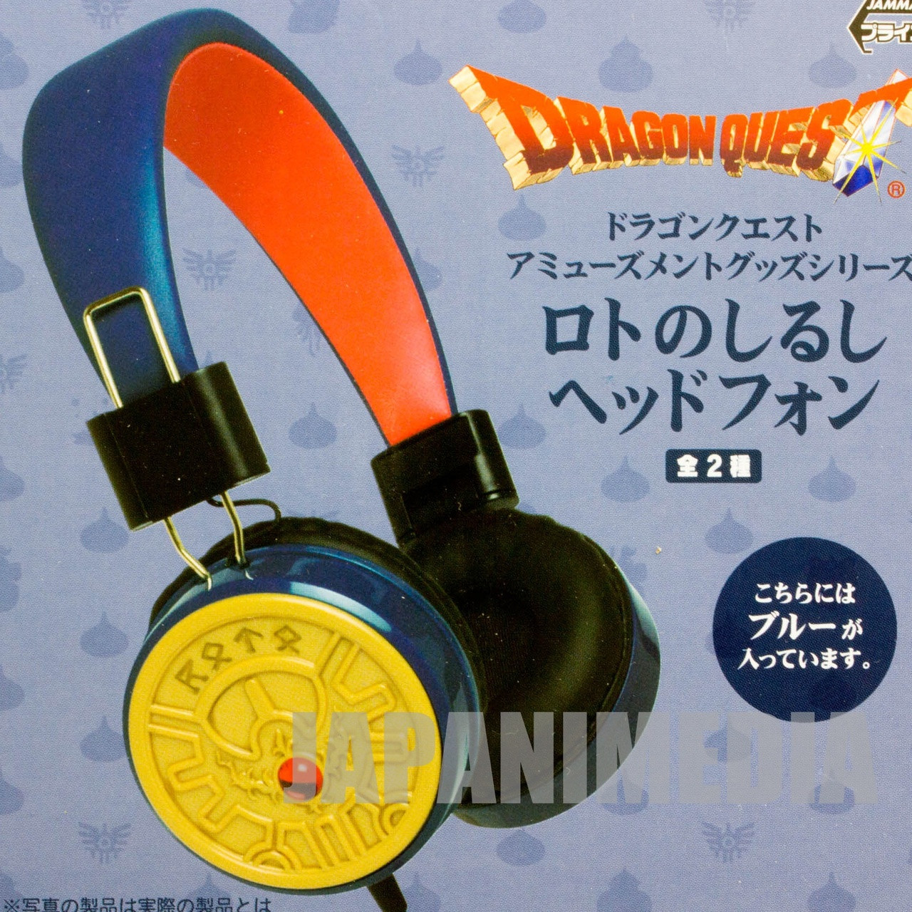 Dragon Quest Brave Roto Mark Headphone Square Enix JAPAN GAME