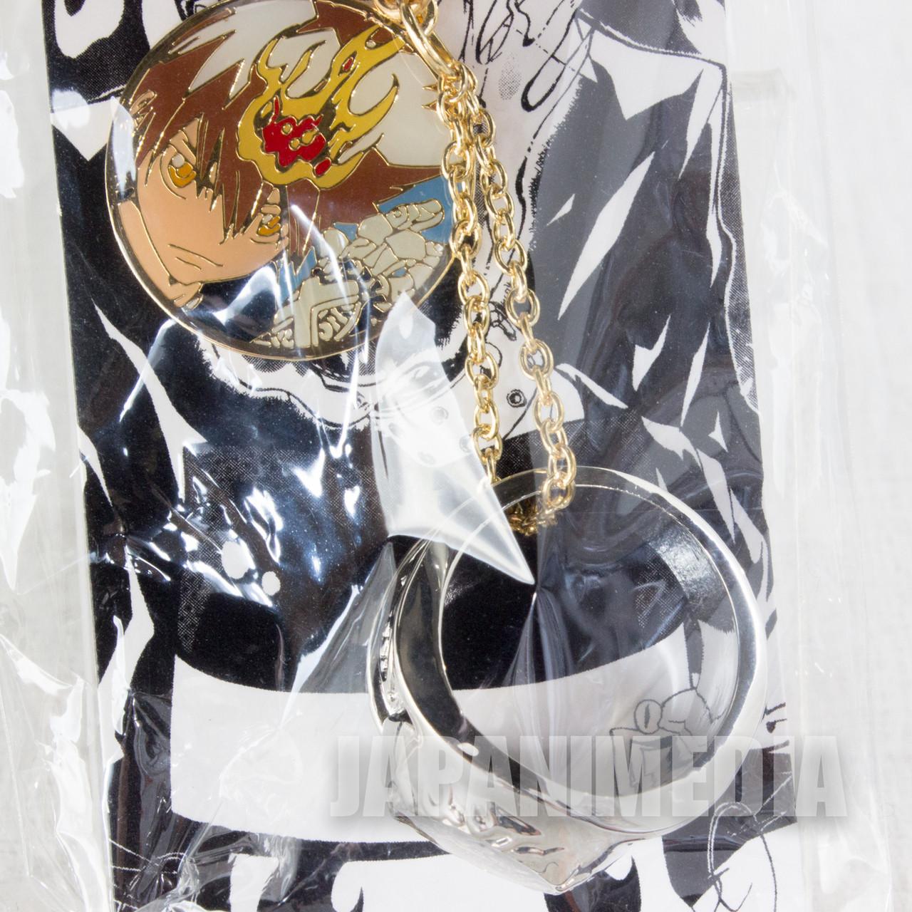 Katekyo Hitman Reborn Tsuna Sawada Vongola Ring Key Chain Japan Anime Manga Shonen Jump Japanimedia Store