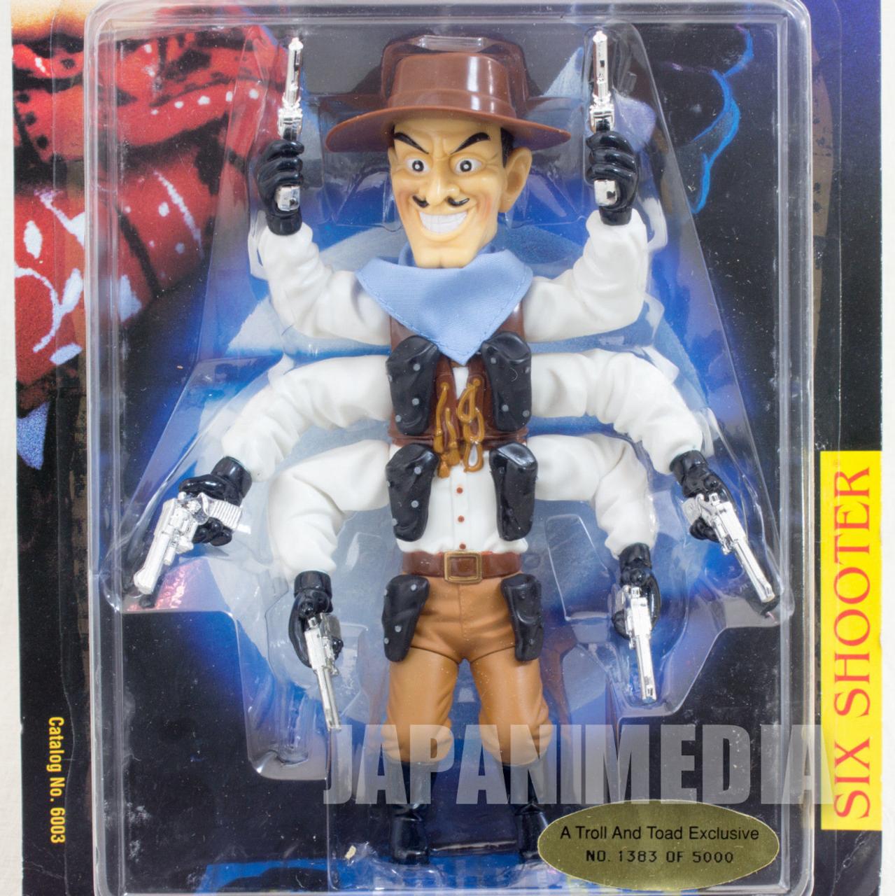 Puppet Master Six Shooter 5000 Limited Edition Model Full Moon Toys Medicom Toy