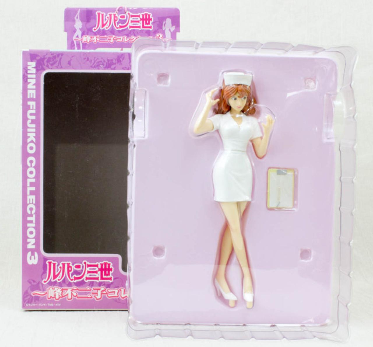 b07fab9af68dd ... Lupin the Third (3rd) Fujiko Mine Nurse Costume White Figure Banpresto JAPAN  ANIME ...