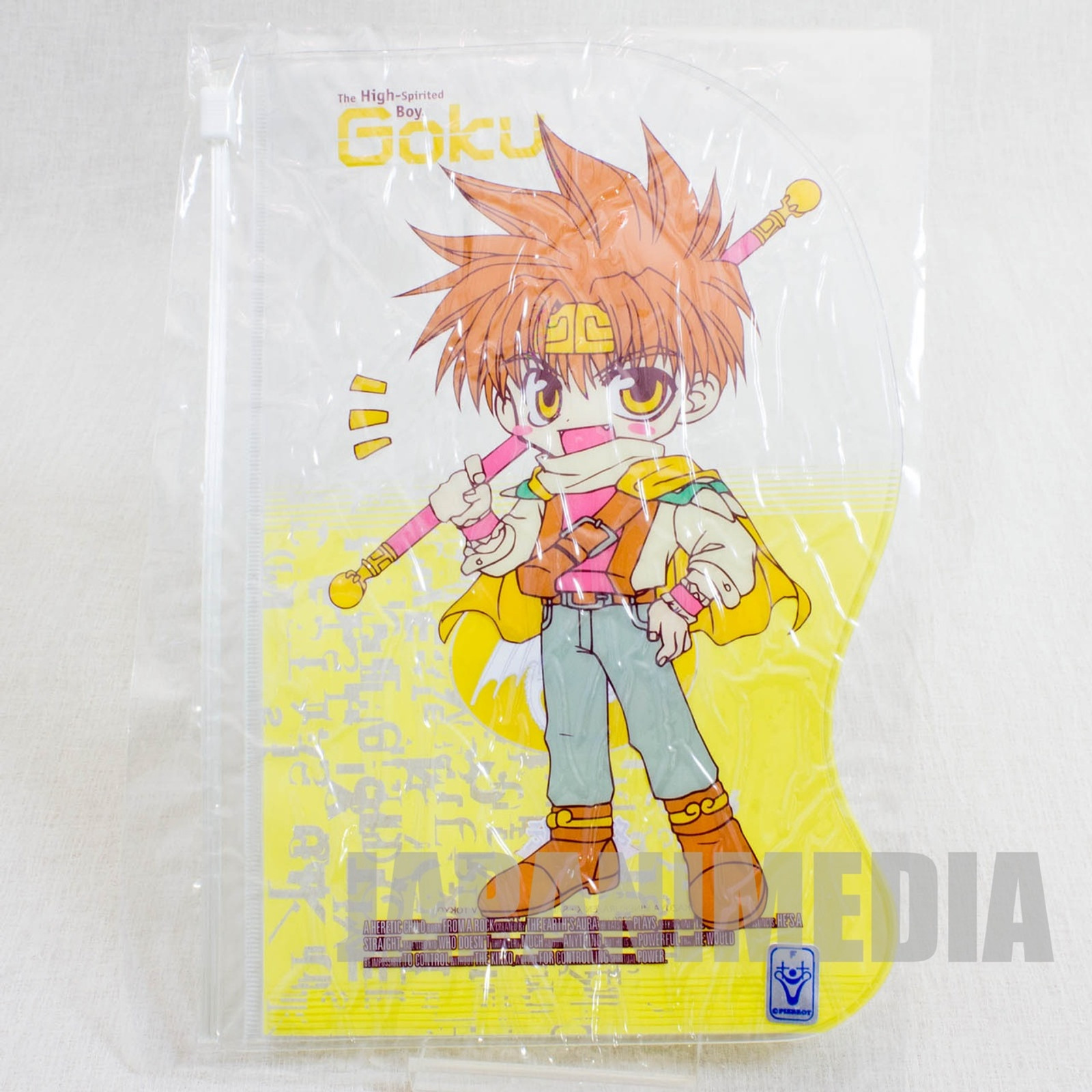Gensomaden Saiyuki Son Goku Clear pouch Bag JAPAN ANIME