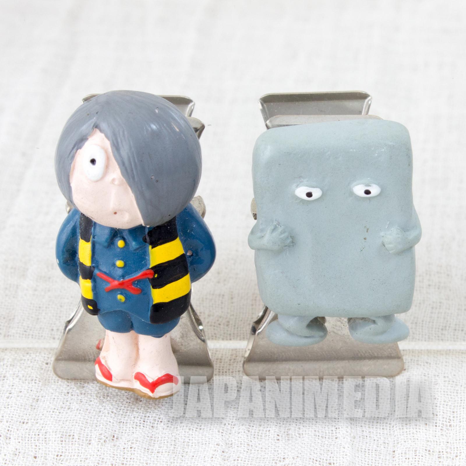 GeGeGe no Kitaro Kitaro & Yokai Nurikabe Clip 2pc JAPAN ANIME MANGA
